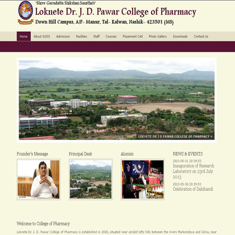Dr J D Pawar College of Pharmacy